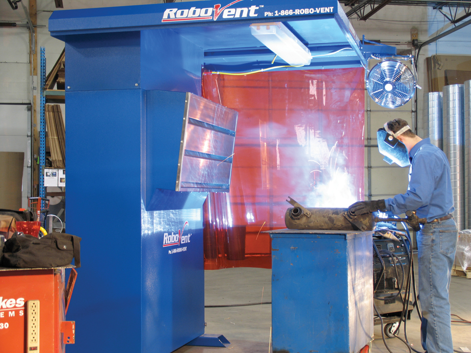1 - Backdraft Picture - RoboVent_WeldPro_Station