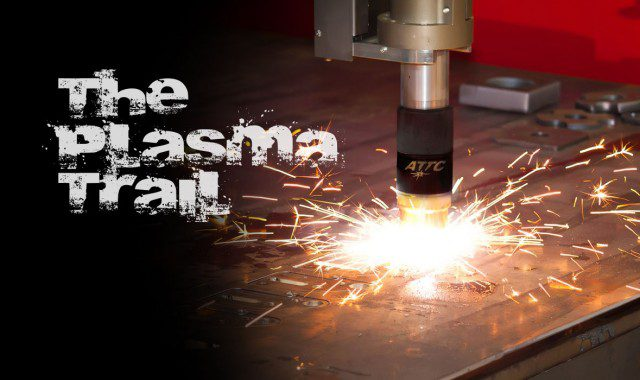 plasma-cutting