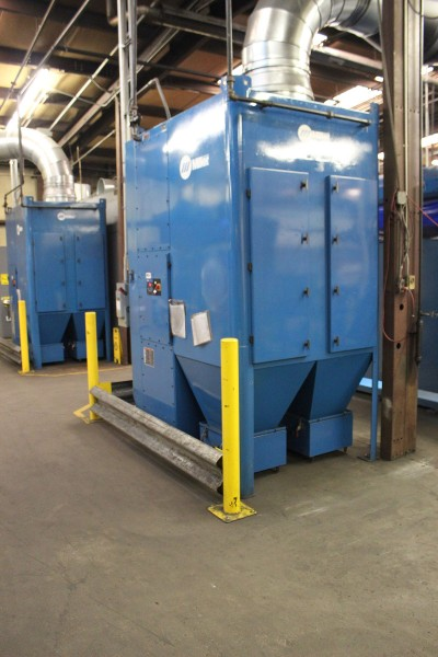 Chandler Equipment installed the Filtair systems with minimal changes to the ductwork, which is especially important in operations using robotic welding because they often need to move the cells based on the application.