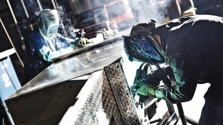 Quality Industries manual welding
