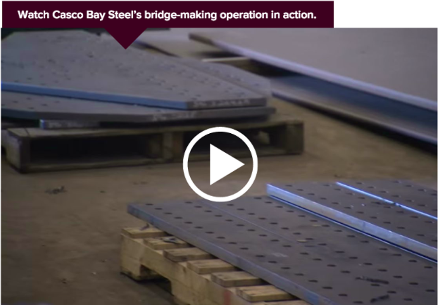 casco bay steel video
