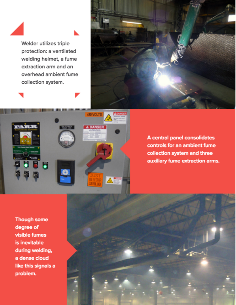 fume extraction for welding