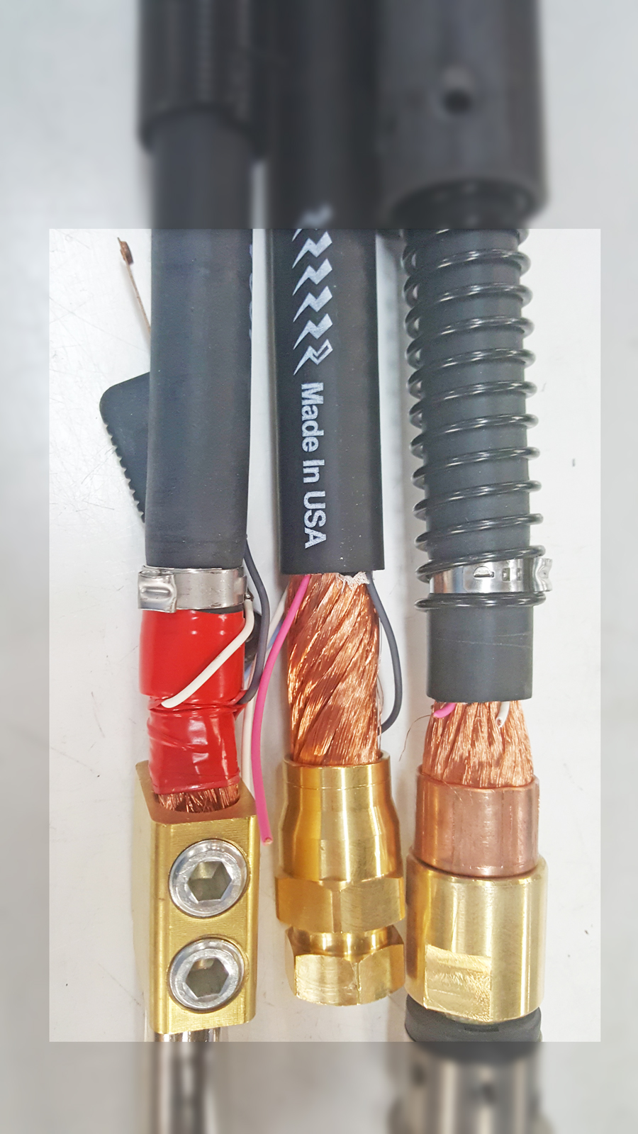 manufacturers use crimp connections