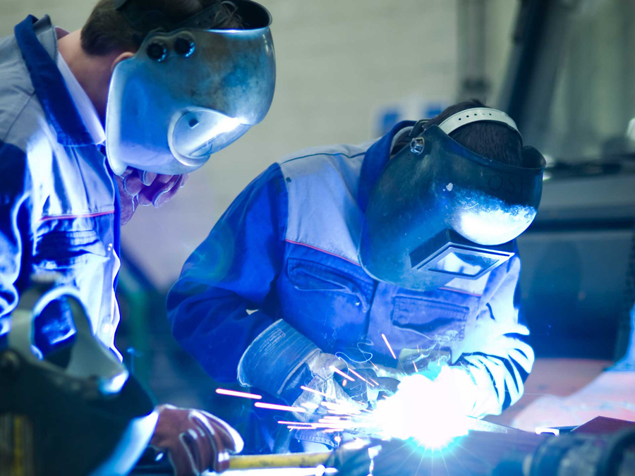 air quality with welding