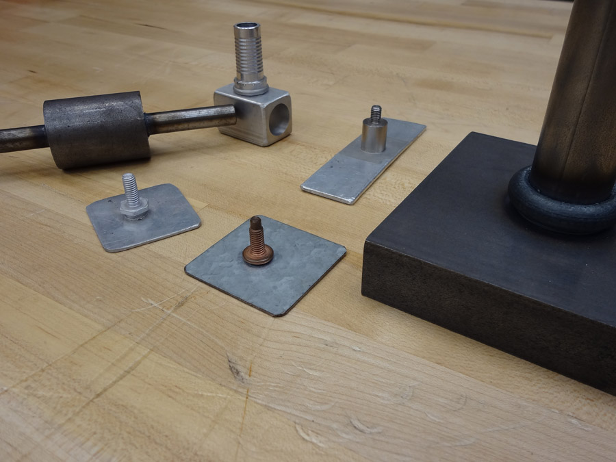 friction welded components