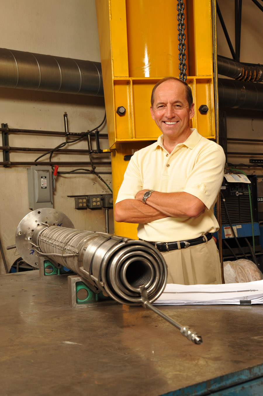Mike Kartsonis, founder of dynamic fabrication