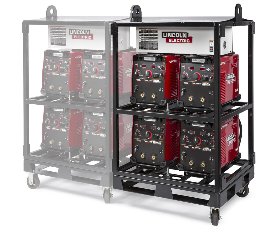 lincoln electric welding rack