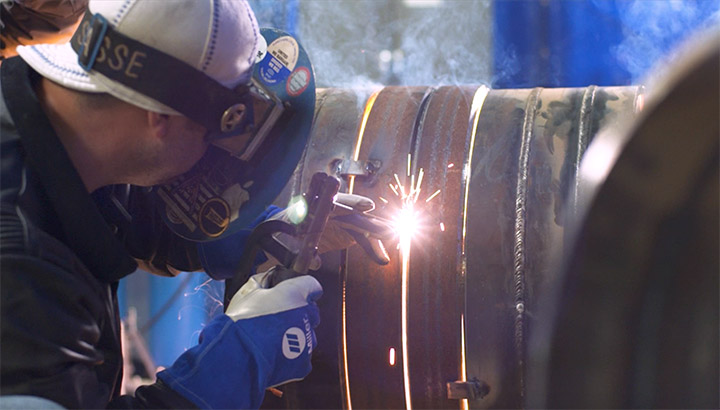 Dig Deep Welding Productivity